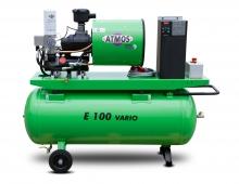 Винтовой компрессор Atmos Albert E 100 Vario с ресивером и осушителем