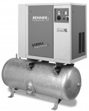 Спиральный компрессор Renner SLD-S 2.2/90-10